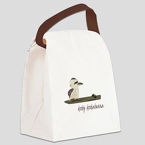 Kooky Kookaburra Canvas Lunch Bag