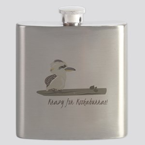 Krazy Kookaburras Flask