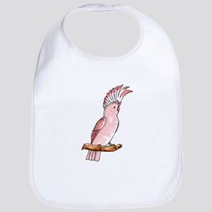 Pink Cockatoo Bib