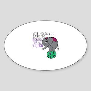 Learn New Tricks Sticker
