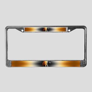 Le Bear License Plate Frame
