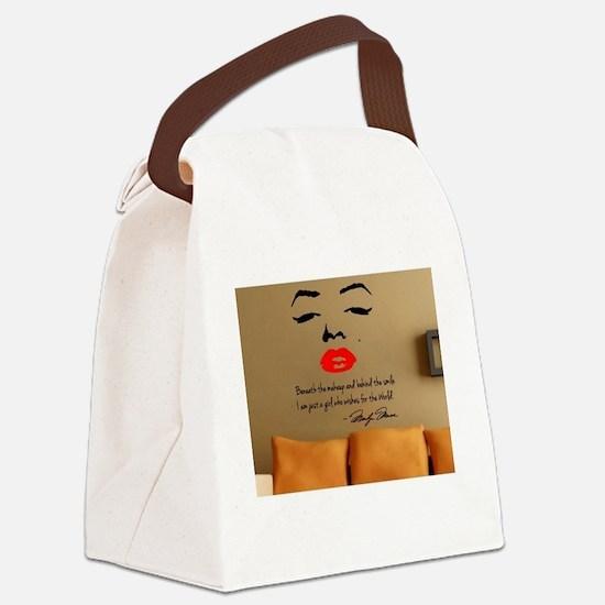 Unique Marilyn warhol Canvas Lunch Bag