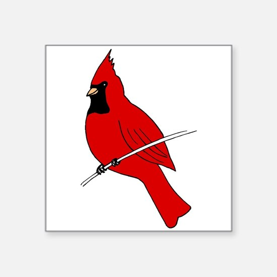 Red Cardinal Sticker
