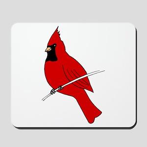 Red Cardinal Mousepad