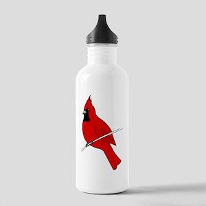 Red Cardinal Water Bottle