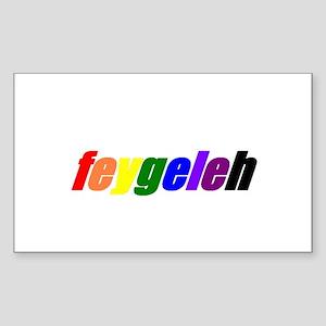 Feygeleh Sticker