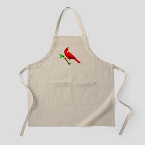 Red Cardinal Apron