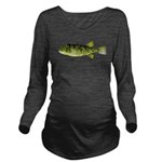 Northern Puffer c Long Sleeve Maternity T-Shirt