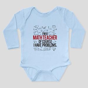 Math Teacher Problems Body Suit
