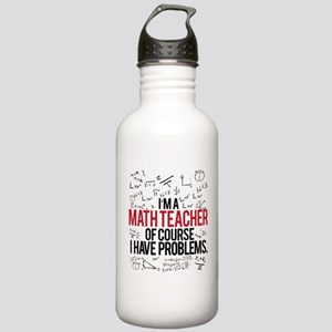 Math Teacher Problems Stainless Water Bottle 1.0L