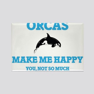 Orcas Make Me Happy Magnets