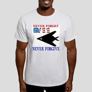 Never Forget 9-11 Never Forgi Light T-Shirt