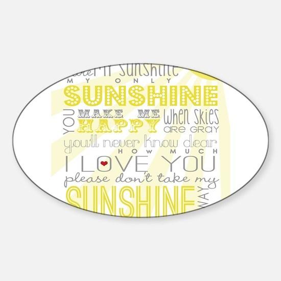 sunshine11 Decal