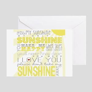 sunshine11 Greeting Cards