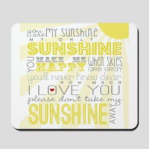 sunshine11 Mousepad