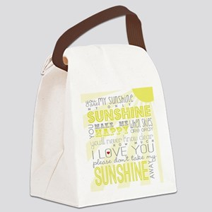 sunshine11 Canvas Lunch Bag