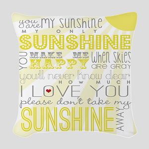 sunshine11 Woven Throw Pillow
