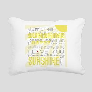 sunshine11 Rectangular Canvas Pillow