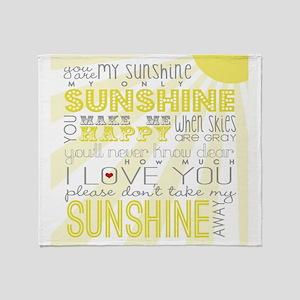 sunshine11 Throw Blanket