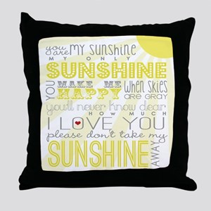 sunshine11 Throw Pillow