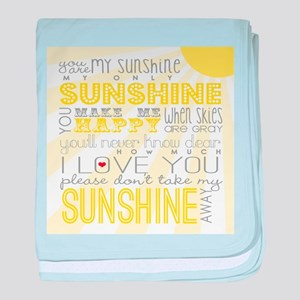 sunshine11 baby blanket