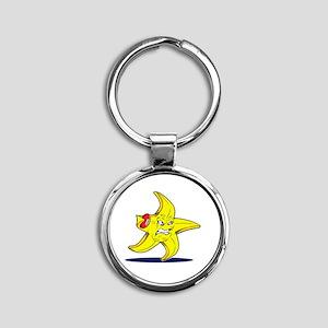 STARFISH FC Round Keychain