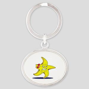 STARFISH FC Oval Keychain