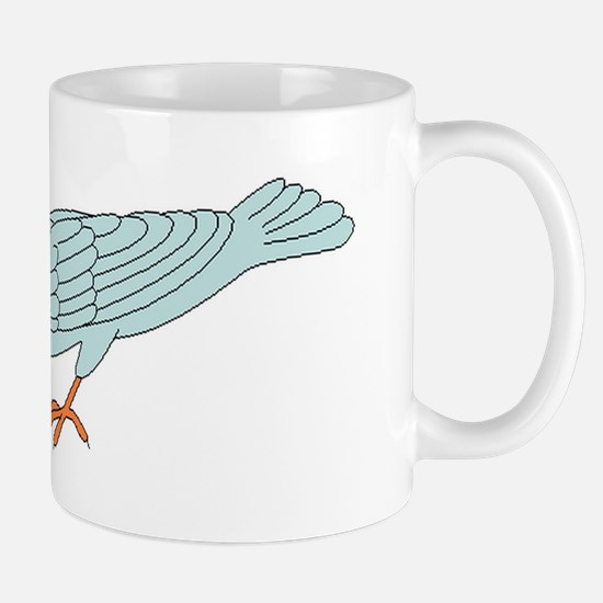 Bird Getting Worm Mugs