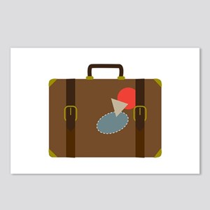 Luggage Case Postcards (Package of 8)