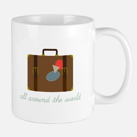 World Luggage Mugs