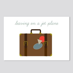 Plane Luggage Postcards (Package of 8)