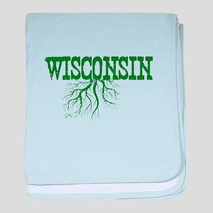 Wisconsin Roots baby blanket