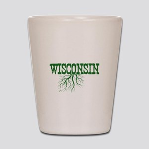 Wisconsin Roots Shot Glass