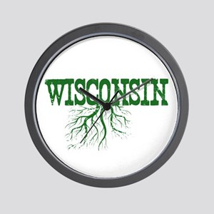 Wisconsin Roots Wall Clock