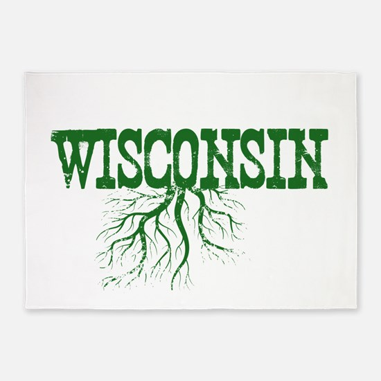 Wisconsin Roots 5'x7'Area Rug