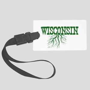 Wisconsin Roots Large Luggage Tag