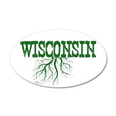 Wisconsin Roots Wall Decal