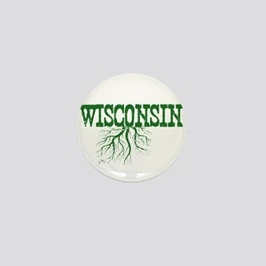 Wisconsin Roots Mini Button