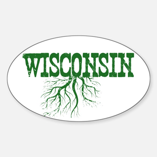 Wisconsin Roots Sticker (Oval)
