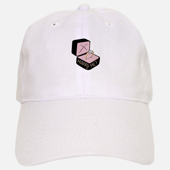 Marry Me? Baseball Baseball Baseball Cap
