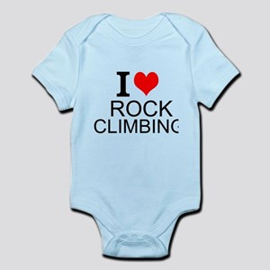 I Love Rock Climbing Body Suit