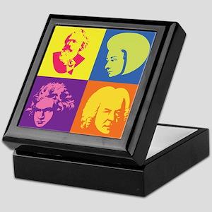 Classical Composer Pop Art Keepsake Box