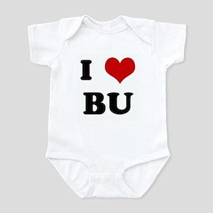 I Love BU Infant Bodysuit