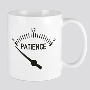 Out of Patience Gas Gauge Mugs