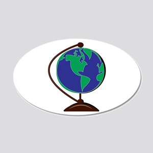 Desk Globe Wall Decal