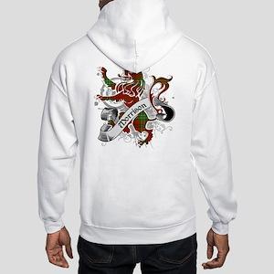 Morrison Tartan Lion Hooded Sweatshirt