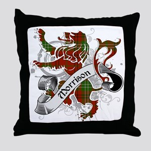 Morrison Tartan Lion Throw Pillow