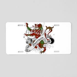 Morrison Tartan Lion Aluminum License Plate