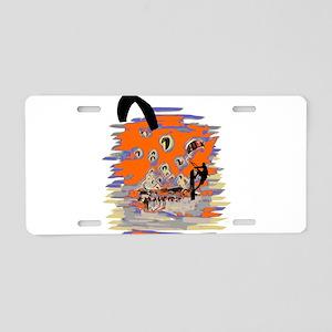 Kite Surfing Aluminum License Plate