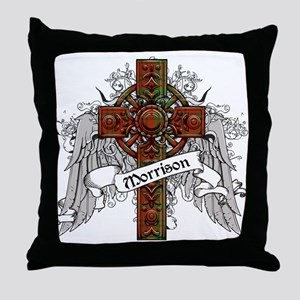 Morrison Tartan Cross Throw Pillow